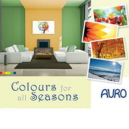 Colours for all Seasons - Wandgestaltung