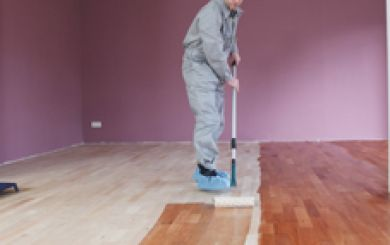 Oling and waxing of wooden floors - step 6