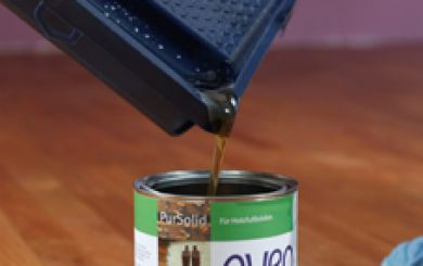 Oling and waxing of wooden floors - step 10