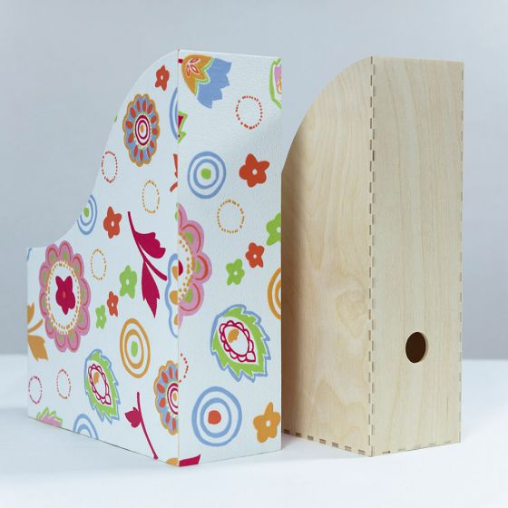 Beautify a magazine folder with old wallpaper