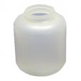 Plastic reservoir for washing agent No. 09200